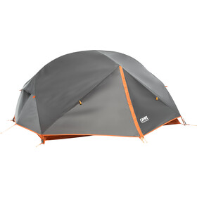 CAMPZ Lacanau 2P Tent, deep grey/orange